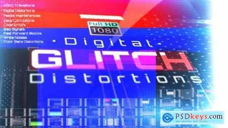 Digital Glitch Distortions 26492097