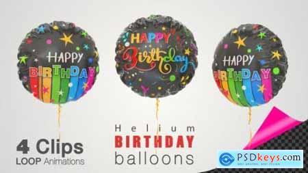 Happy Birthday Celebration Helium Balloons 26505289