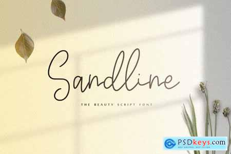 Sandline - The Beauty Script Font