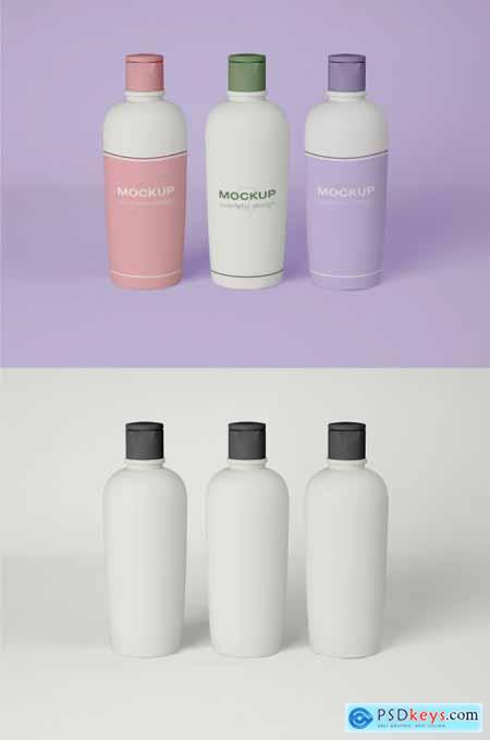 Three Dispenser Bottles Mockup 339307134