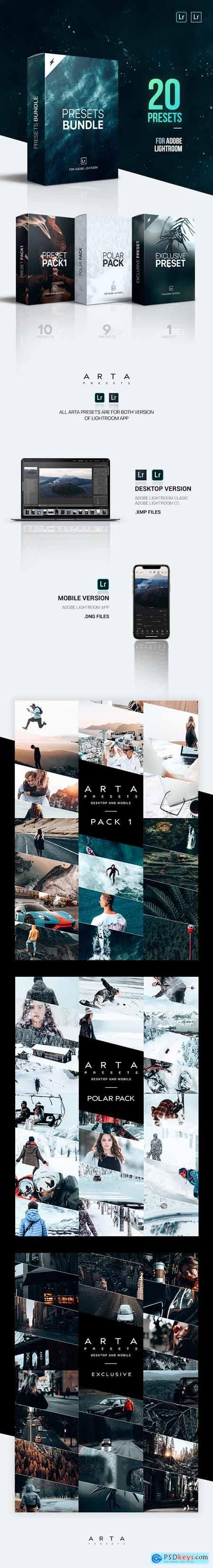 ARTA Presets Bundle For Mobile and Desktop Lightroom 25270142