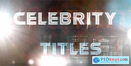 Celebrity Titles 121283