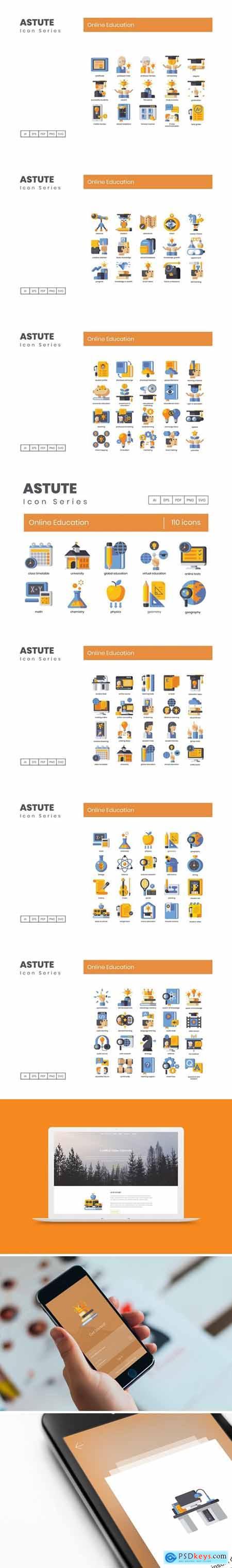 110 Online Education - Astute Series