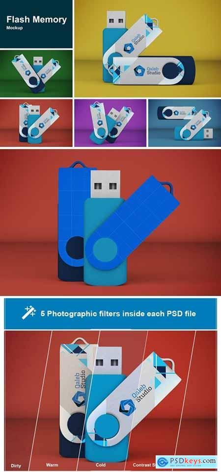 Flash Memory Mockup