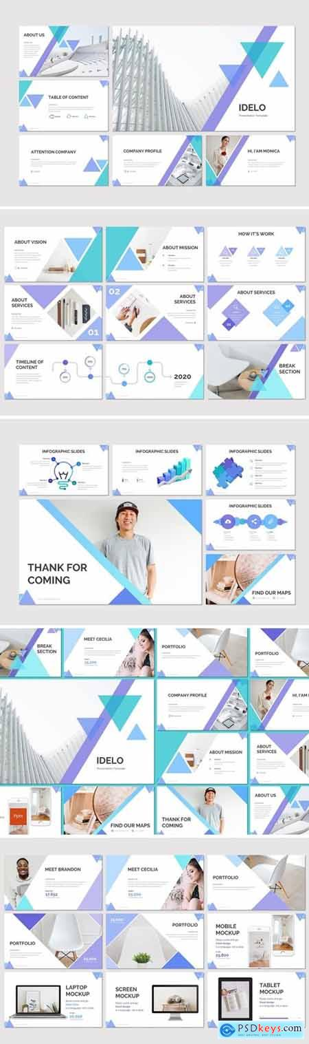 Idelo Powerpoint, Keynote and Google Slides Templates