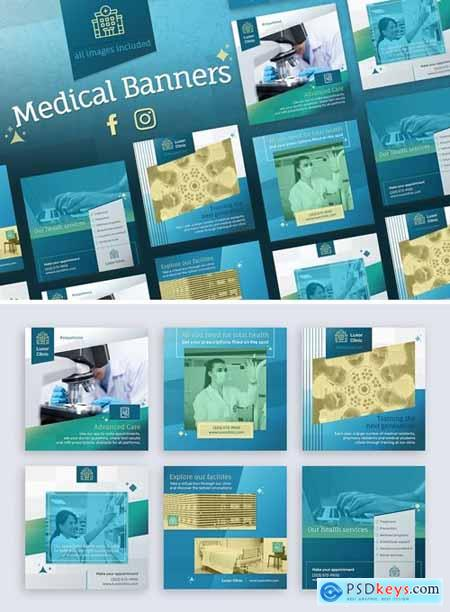 Medical Banners for Facebook and Instagram