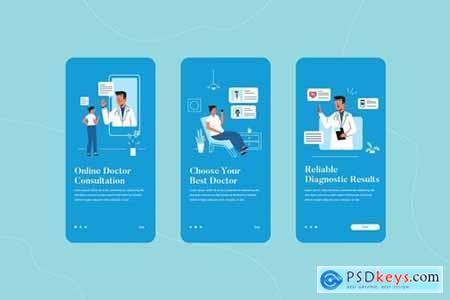 Online Doctor Consultation Onboarding App