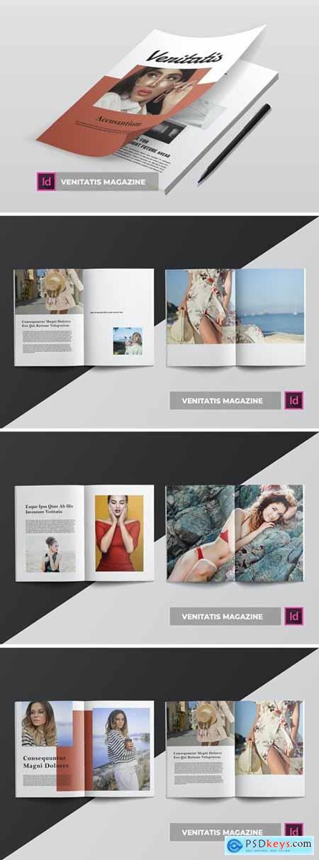 Venitatis - Magazine Template