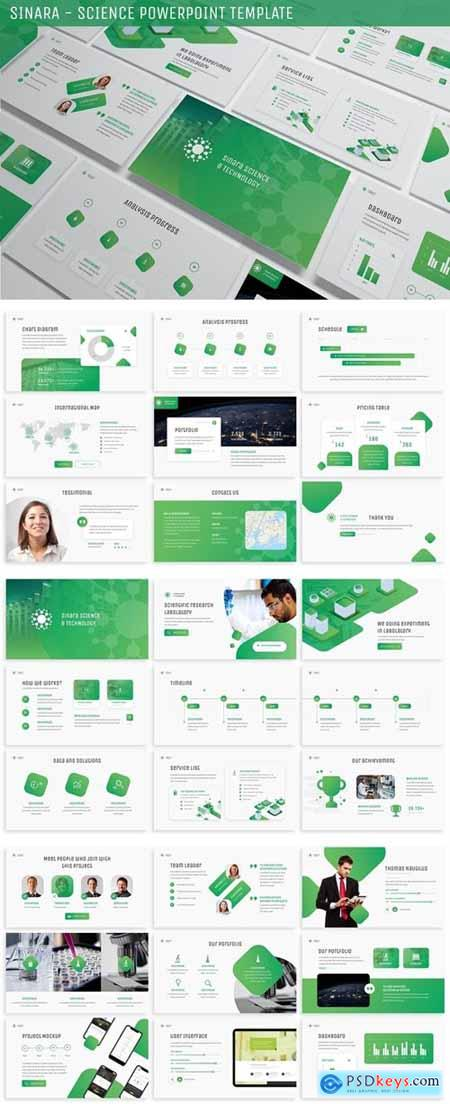 Sinara - Science Powerpoint Template