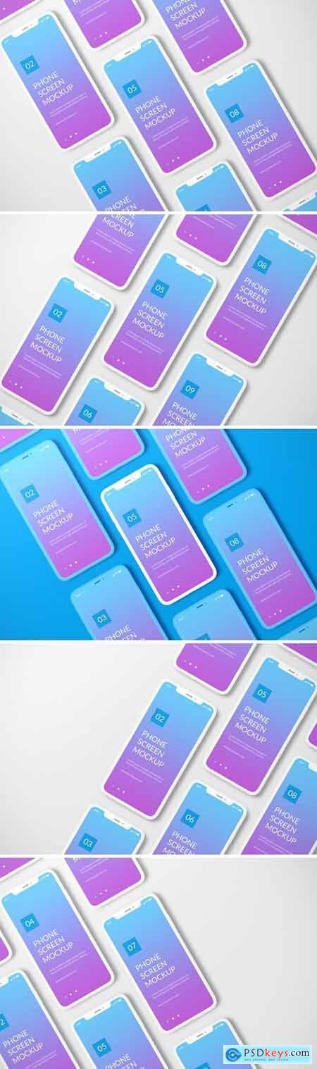 Unicolor Phone Mockup