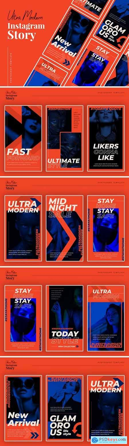 Ultra Modern Instagram Story