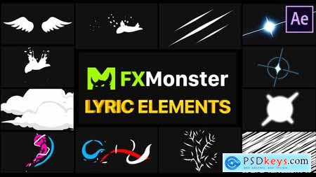 Lyric Elements After Effects 26541334