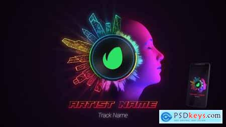 Neon Audio Visualiser 26541422