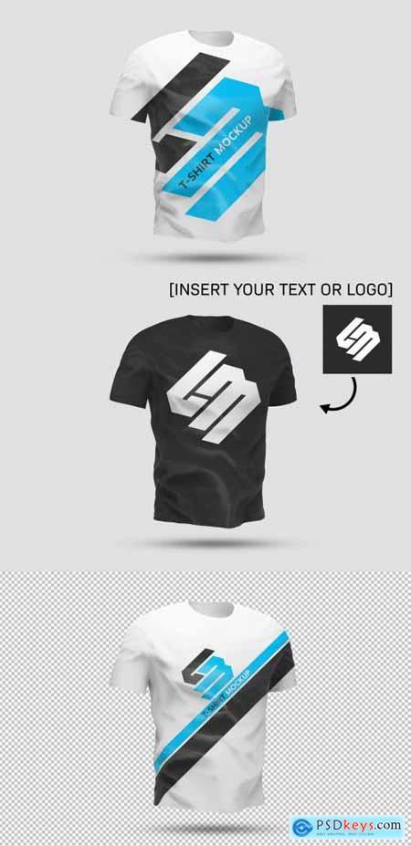 Isolated T-Shirt Mockup 344950725