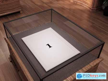 Museum Frame Mockup 345664446