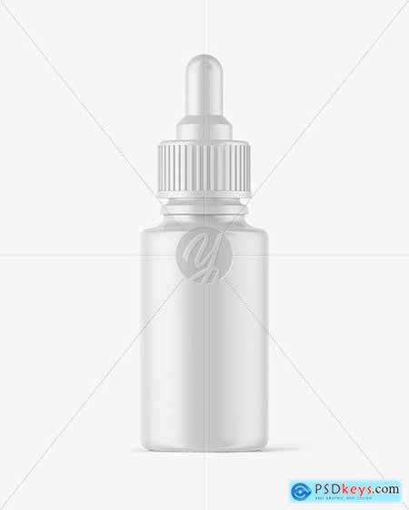 Matte Dropper Bottle Mockup 58960