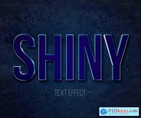 Shiny Metal 3D Text Effect Mockup 344920308
