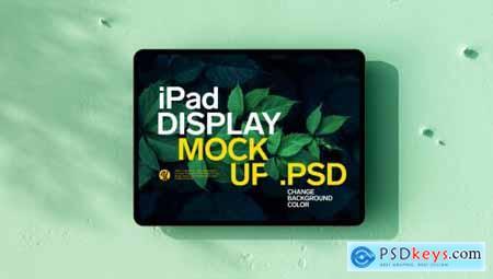 iPad Display Mockup
