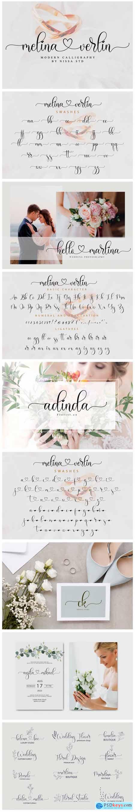 Melina Verlin Font