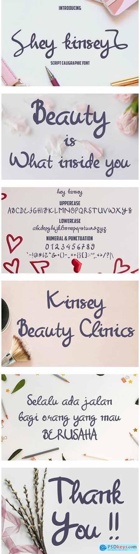 Hey Kinsey Font