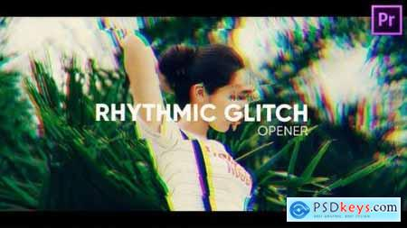 Rhythmic Glitch Opener for Premiere Pro 26565867