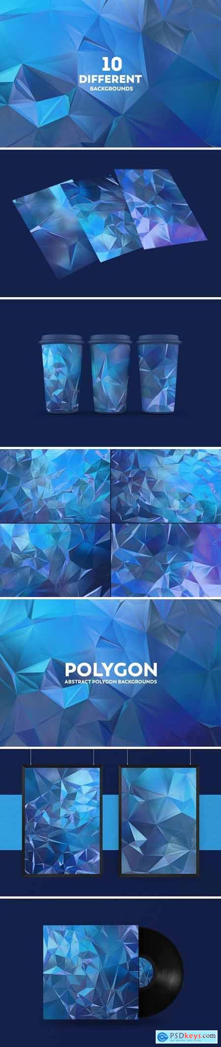Abstract Polygon Backgrounds 82P3X58