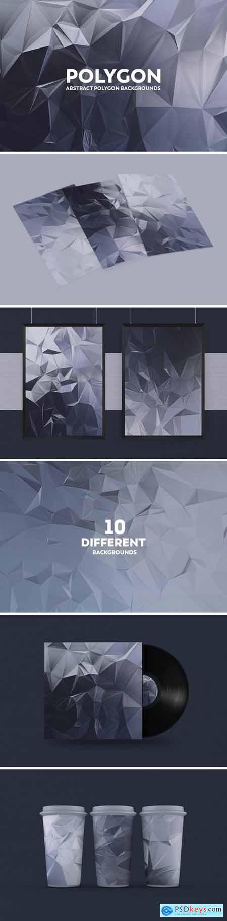 Abstract Polygon Backgrounds ZVABQ37
