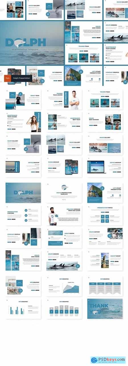 Dolph Powerpoint, Keynote and Google Slides Templates