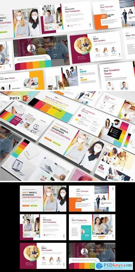 BEST SMALL BUSINESS OPPORTUNITIES Powerpoint V482