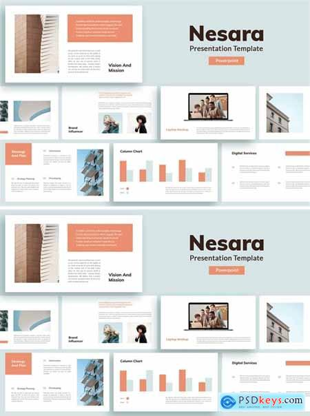Nesara - Presentation Template Powerpoint and Keynote