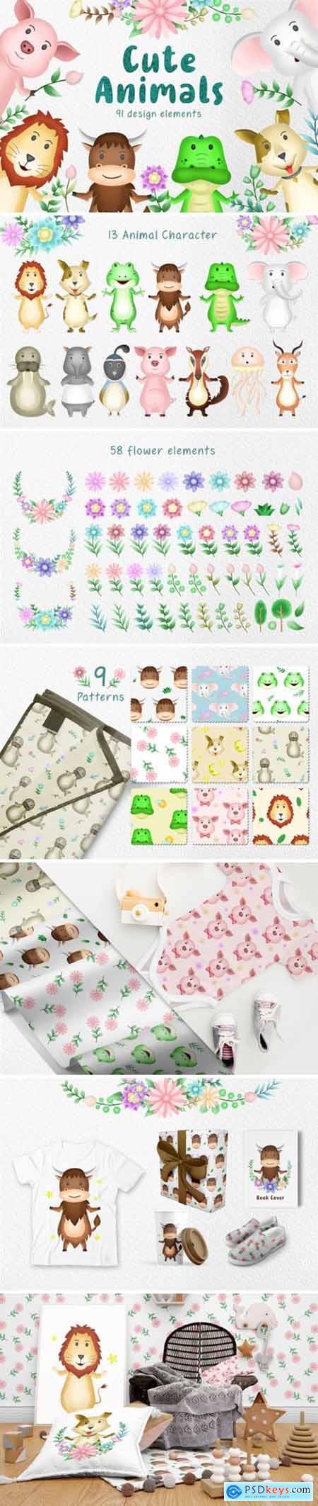 Cute Animals 3943393