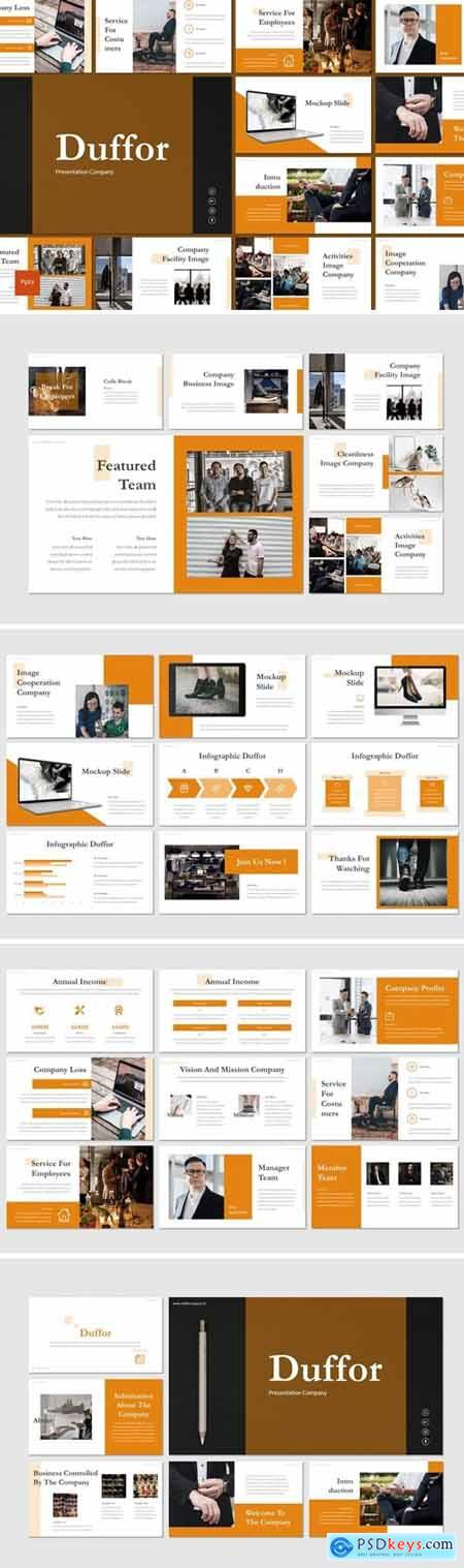 Duffor Powerpoint, Keynote and Google Slides Templates
