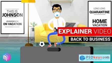 Explainer Video Back to Business 26589978