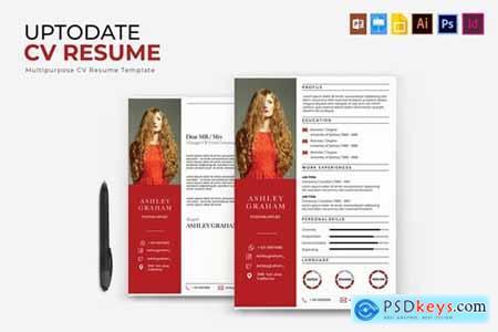 Uptodate - CV & Resume[