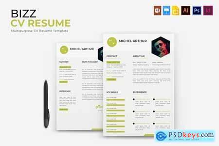 Bizz - CV & Resume