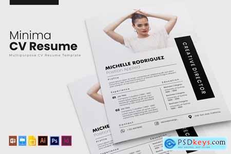 Minima - CV & Resume