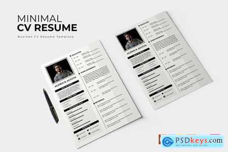 Minimal - CV & Resume