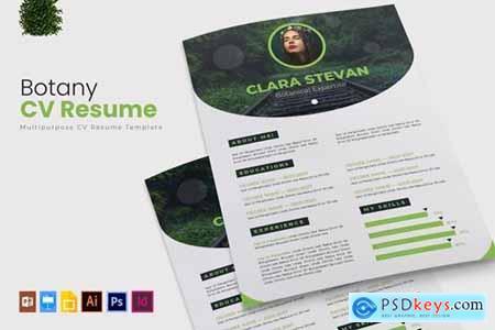 Botany - CV & Resume