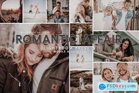 91 Romantic Affair Presets 4632536