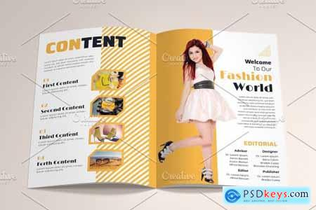 Fashion Magazine Brochure Template 4576984