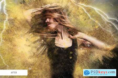 Photoshop Actions - Sand Storm 4841577