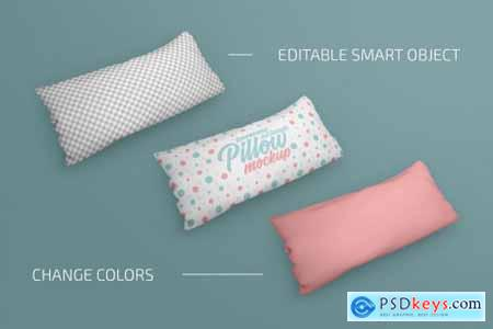 Pillow Mockup Bundle 4883273