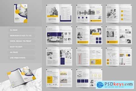 Proposal Brochure Template 4590806