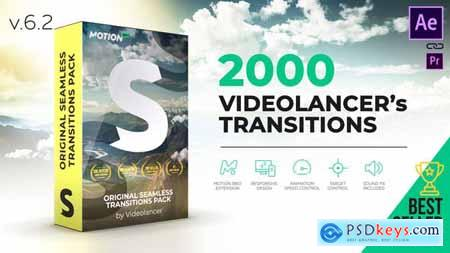 Videolancer's Transitions Original Seamless Transitions Pack V6.1 18967340