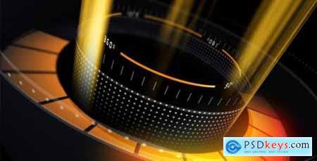 Futuristic Glitch Logo 20437148
