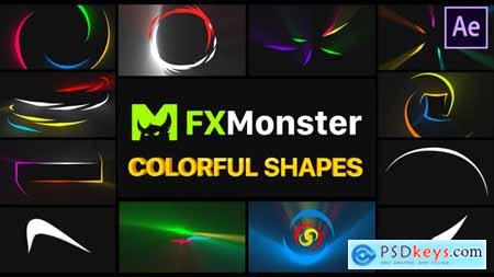 Colorful Shapes After Effects 26589904