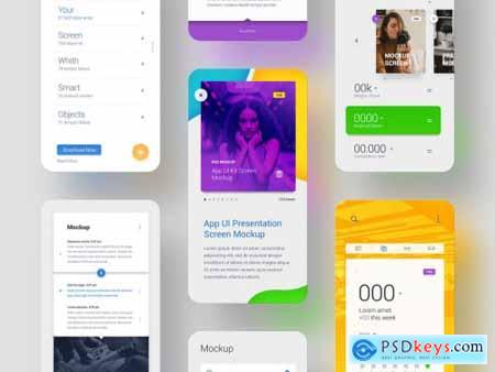 Screen Ui Presentation Mockups 317331565