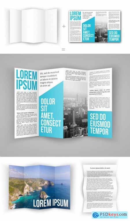 4 Fold Brochure Mockup 317544742