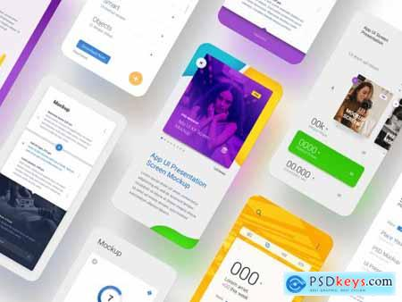Screen Ui Presentation Mockups 317332080