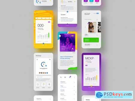 Screen Ui Presentation Mockups 317332244